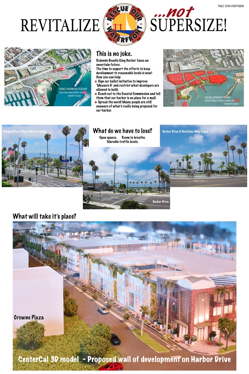 Redondo Beach King harbor waterfront proposed project massive #rbwaterfront #myrbwaterfront