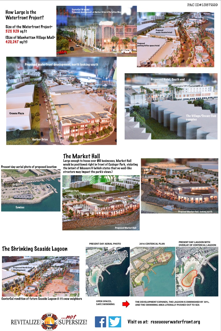 Redondo Beach King harbor waterfront proposed