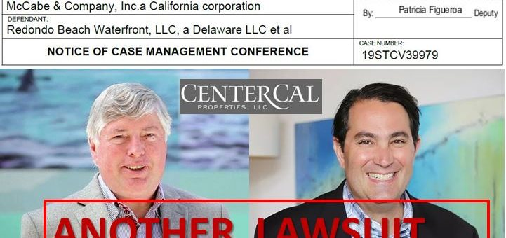CenterCal Properties Sued Again!